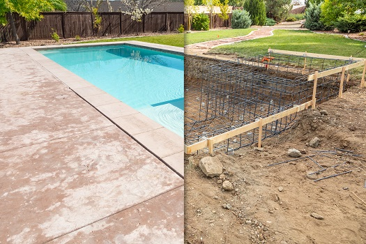 Phases of the Pool-Building Process