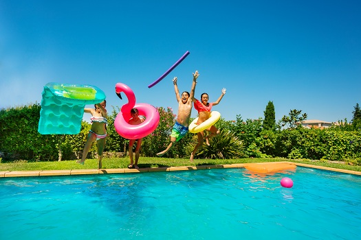 Top 6 Reasons You'll Be Grateful for Your Pool during the Summer